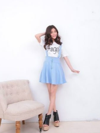 Order#B0001 韩版宽松短裙裤