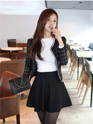 Order#B0003 韩版百褶短裙